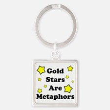 Metaphors.eps Square Keychain