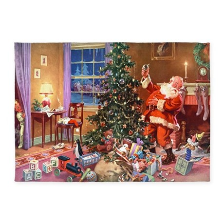 Santa claus 3 10x14 adj 5 39 x7 39 area rug by admin cp7796332 for 10x14 bedroom