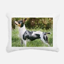ratcalfieldcrop Rectangular Canvas Pillow