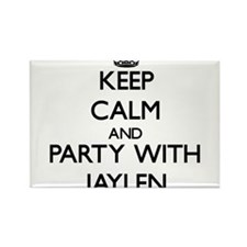 Keep Calm and Party with Jaylen Magnets