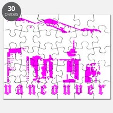 vancouverSKYLINEandMOUNTAINver2 Puzzle