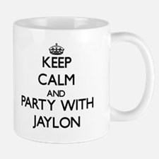 Keep Calm and Party with Jaylon Mugs