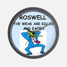 ROSWELL Wall Clock