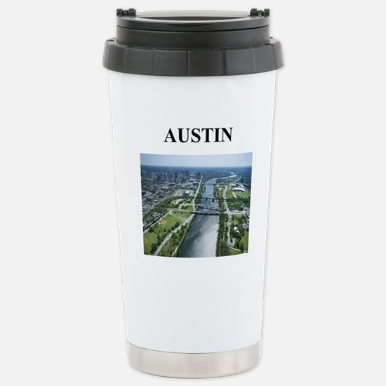 austin texas gifts Stainless Steel Travel Mug