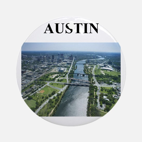Austin Texas Gifts (round) Round Ornament