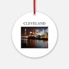 Cleveland Ohio Ornament (round)