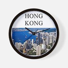 HONGKONG2.png Wall Clock