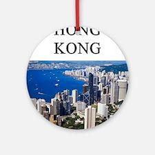 HONGKONG2.png Ornament (Round)