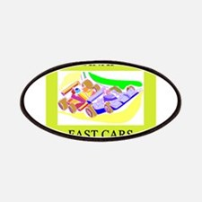 indianapolis fast cars fast women Patches