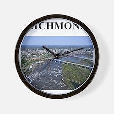 richmond virginia gifts Wall Clock