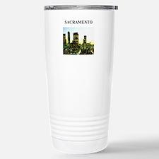 SACRAMENTO california gifts Travel Mug
