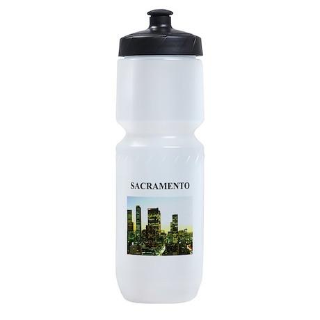 SACRAMENTO california gifts Sports Bottle
