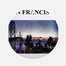 san francisco california gifts Ornament (Round)