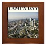 tampa bay florida gifts Framed Tile