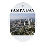 tampa bay florida gifts Ornament (Oval)
