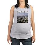 tampa bay florida gifts Maternity Tank Top