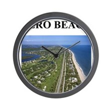 vero beach florida gifts Wall Clock