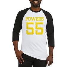 POWERS YELLOW Baseball Jersey