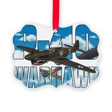 p40tshirt Picture Ornament