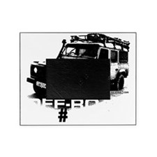 auto-land-rover-checkers-005cp Picture Frame