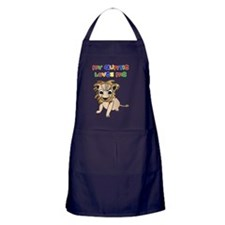my-auntie-loves-me-lion Apron (dark)