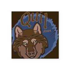 "443_Quil-Twilight Square Sticker 3"" x 3"""