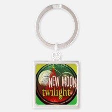 twilight santa iphone copy Square Keychain