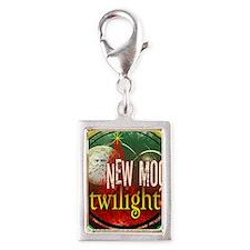 twilight santa iphone copy Silver Portrait Charm