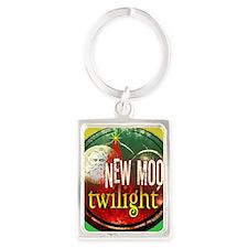twilight santa iphone copy Portrait Keychain