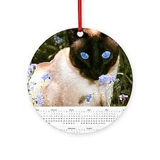 mousepadcaltrad Round Ornament