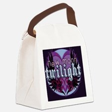 new moon crest iphone copy Canvas Lunch Bag