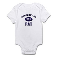 Property of pat Infant Bodysuit