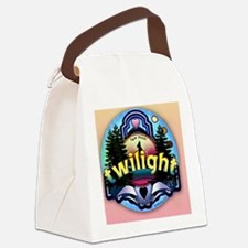 twilight wolf iphone copy Canvas Lunch Bag