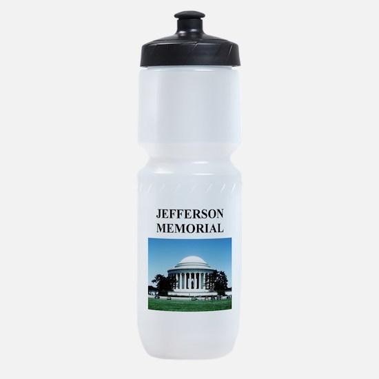 jefferson memorial gifts Sports Bottle