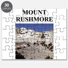 mount rushmore gifts Puzzle