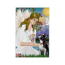 Angel Love - Boston T3 (FPrint) Rectangle Magnet