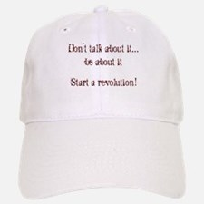 Start a Revolution! Baseball Baseball Cap
