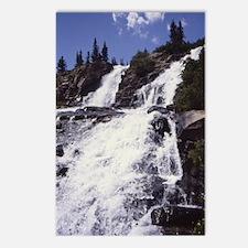 Colorado Waterfall jrnl Postcards (Package of 8)