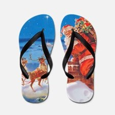 Santa Claus 60_SQ Flip Flops