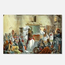 Egyptian-Harem_Dancing_Mo Postcards (Package of 8)