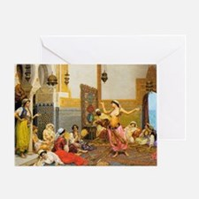 The-Harem-Dance_Giulio-Rosa Greeting Card