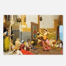 The-Harem-Dance_Giulio-Ro Postcards (Package of 8)