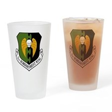 5th Bomb Wing - Black Drinking Glass