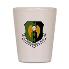5th Bomb Wing - Black Shot Glass