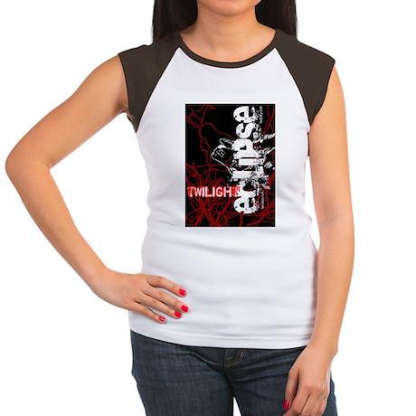 twilight eclipse wolf i Women's Cap Sleeve T-Shirt