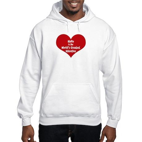 Greatest Valentine: Hailie Hooded Sweatshirt