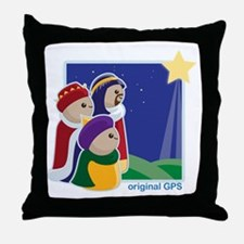 original-gps Throw Pillow