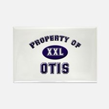Property of otis Rectangle Magnet