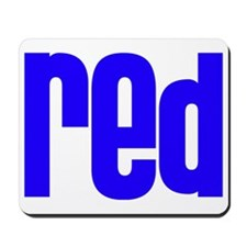 red_blue Mousepad
