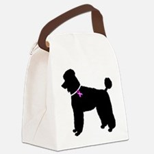 Poodle.eps Canvas Lunch Bag
